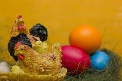 Easter Chicken Family Stock Photos