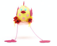 Easter chicken toy Royalty Free Stock Photography