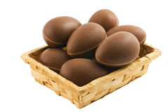 Easter and chocolate royalty free stock images