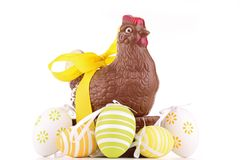 Easter chocolate Royalty Free Stock Photos