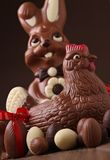 Easter chocolate royalty free stock photo