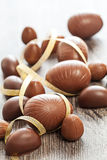 Easter chocolate egg sweets decoration Stock Photography