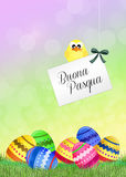 Easter chocolate eggs Royalty Free Stock Photos