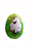 Easter chocolate figurine Royalty Free Stock Photography