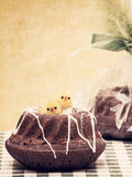 Vintage Easter Muffin Stock Images