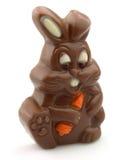 Easter chocolate rabbit Stock Photos
