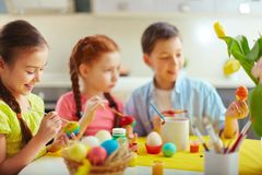 Easter class Stock Image