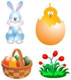 Easter clip-art Stock Images