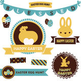 Easter Clipart Royalty Free Stock Photography