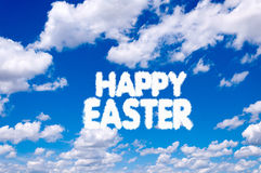 Easter clouds Royalty Free Stock Photos