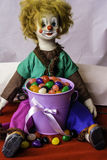 Easter Clown Royalty Free Stock Images