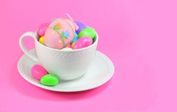 Easter Coffee Cup Stock Photography
