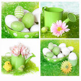 Easter Collage royalty free stock photo