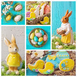 Easter collage Royalty Free Stock Photos