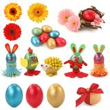 Easter collection Stock Image