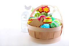 Easter colored eggs Royalty Free Stock Photo