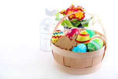 Easter colored eggs Royalty Free Stock Image