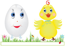 Easter colored image Stock Photography