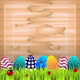 Easter colored vector Royalty Free Stock Photography