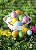 Easter colorful chocolate Stock Image
