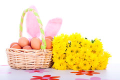 Easter colorful decorations Stock Photo
