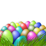 Easter colorful eggs Royalty Free Stock Image