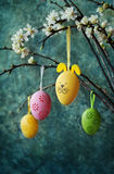 Easter colorful eggs Royalty Free Stock Photo