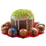 Easter com ovos Imagens de Stock Royalty Free
