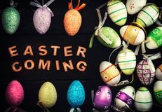 Easter coming concept Royalty Free Stock Image