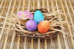 Easter composition Stock Image