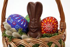 The Easter composition Royalty Free Stock Photography