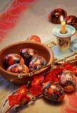 Easter Composition Stock Photos