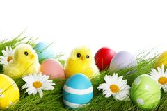 Easter composition Royalty Free Stock Photos