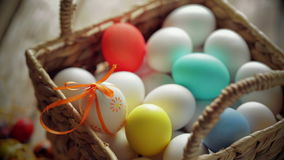 Easter composition stock video footage