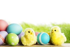 Easter composition Royalty Free Stock Image