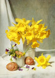 Easter composition Stock Images