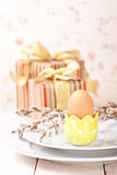 Easter compositions Royalty Free Stock Photos