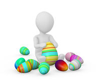 Easter concept Stock Photos