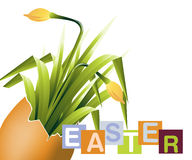 Easter Concept Illustration Stock Image
