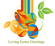 Easter Concept Illustration Royalty Free Stock Photography