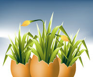 Easter Concept Illustration Royalty Free Stock Image
