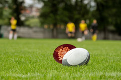 Easter rugby royalty free stock photos