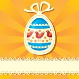 Easter congratulatory background Royalty Free Stock Photography