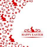 Easter congratulatory card Stock Photo