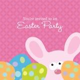 Easter convida o molde Imagem de Stock Royalty Free
