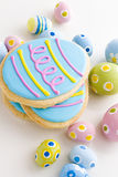 Easter cookies Royalty Free Stock Image