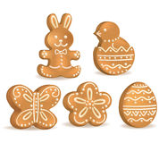 Easter cookies Royalty Free Stock Images