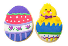 Easter cookies Stock Photos