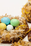 Easter Cookies. Close up Royalty Free Stock Image
