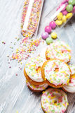 Easter cookies Stock Images